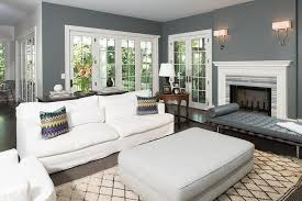 gray and white living room matching sofa and bench design ideas