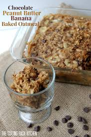 Kitchens By Katie by Chocolate Peanut Butter Banana Oatmeal