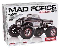 nitro rc monster trucks mad force kruiser 2 0 readyset 1 8 monster truck by kyosho