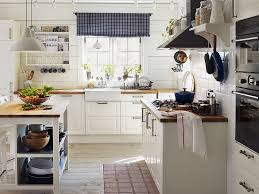 Kitchen Curtains Ikea by Minimalist Cook Room Style With Ikea Valance Kitchen Curtain And