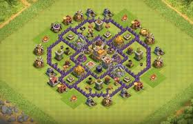 layout design th7 android technologies farming base layouts with th7 th11 inside for 2016