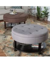 unexpected deals for tufted ottoman coffee table