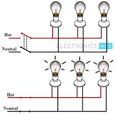 basic electric wiring standard lamp and fan wiring diagram from a