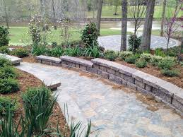 landscaping with stone garden designs using gravel rock