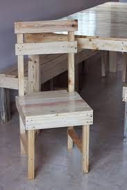 Build Dining Chair Awesome Pallet Projects Pallet Idea