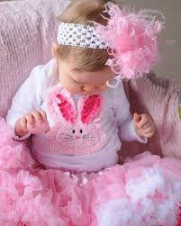 chenille easter chenille bunny ears pink white easter shirt set