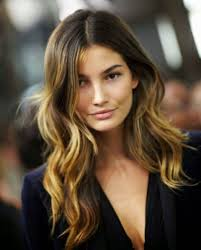 long haircuts for dark hair long brown hair to ombre bob haircut