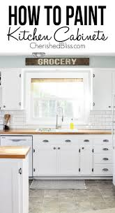 painting kitchen cabinets tips on how to paint kitchen cabinets cherished bliss