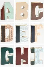 Silver Letters Home Decor Best 25 Book Letters Ideas On Pinterest Diy Decoupage Crafts