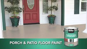 How To Paint Outdoor Concrete Patio Behr Premium Low Lustre U0026 Gloss Enamel Porch U0026 Patio Floor