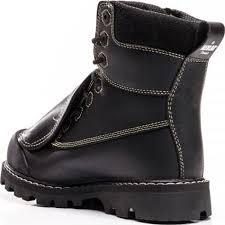 steel toe motorcycle boots black steel toe csa external met guard work boot royer