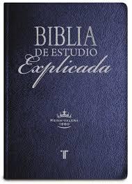 muestra biblia de estudio explicada una biblia de estudio que