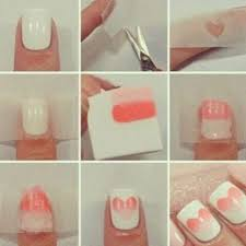 ombre nail design tumblr heart ombre nails pictures photos and images for facebook tumblr