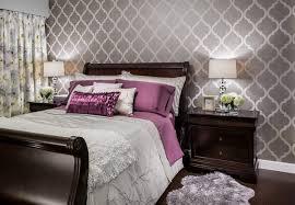 Designer Bedroom Wallpaper Contemporary Bedroom Ideas With Wallpaper Ideas Home Interior
