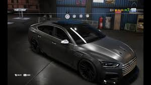 build audi s5 need for speed payback audi s5 clean build