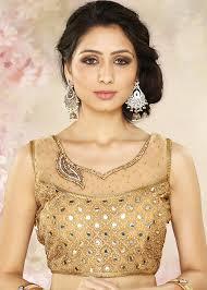 golden blouse golden readymade blouse ethnic essentials 112bl16