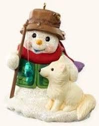 hallmark keepsake ornaments snow buddies keepsake caboose