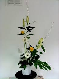 composition florale haute 花の出会い