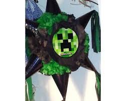 minecraft pinata piñata estrella minecraft gamerlu