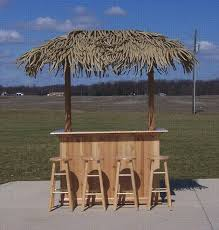 Tiki Outdoor Furniture by 4 X 6 Residential Tiki Bar