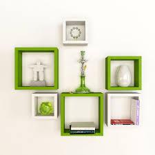 designer wall shelves artesia decorative wooden shelves 6 pcs set u2013 artesia shop