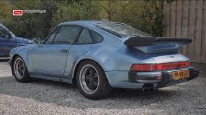 porsche 930 turbo blue mijn auto porsche 911 turbo 930 youtube