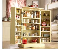 Free Standing Kitchen Pantry Furniture by Freestanding Larder Wooden Cupboard Buttermilk Kitchen Food