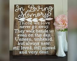 in loving memory items in loving memory etsy