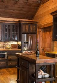 black kitchen cabinets in log cabin about our hybrid and craftsman style log homes