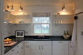 Kitchen No Cabinets Lovely Kitchen Design With No Top Cabinets Taste