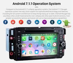 seicane s127012 quad core android 7 1 1 head unit dvd gps system