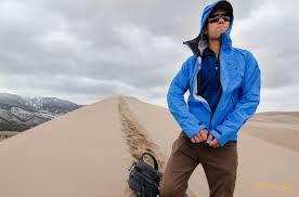 men s mountain light jacket mountain hardwear quasar lite jacket review youtube
