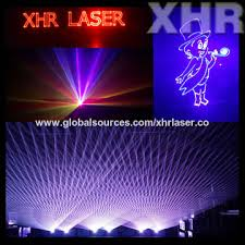 china xhr 8w color stage laser light from guangzhou