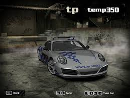 police porsche need for speed most wanted porsche 911 carrera s police nfscars