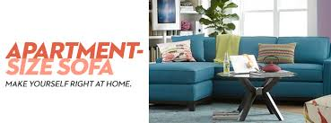 Apartment Sofa Sectional Apartment Size Sofa Macy S