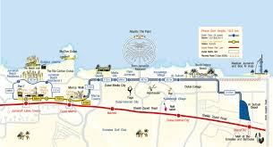 Metrolink Route Map by Dubai Tram Essential Guide