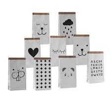 eco friendly home decor miscellaneous goods heavy kraft paper storage bag kids toys