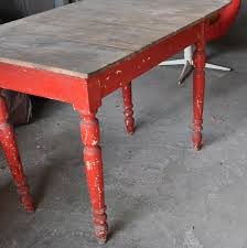Antique Farm Tables by Antique Red Farm Table Omero Home