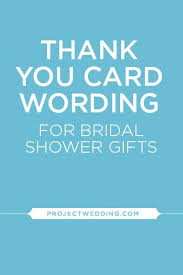 gift card bridal shower wording bridal shower thank you card wording not attending imbusy for