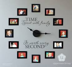 wall decoration with pictures intersiec