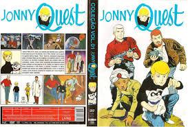jonny quest capa dvd jonny quest coleção vol 01 gamecover capas