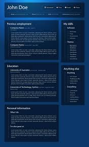 Sample Online Resume by 40 Great Html Cv Resume Templates Template Idesignow