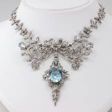 beautiful necklace images 15 designs of amazing diamond necklaces aquamarines diamond and jpg