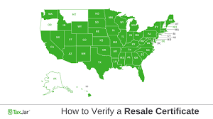 Blanket Certification Letter Sales Tax By State How To Verify A Resale Certificate