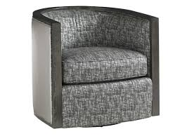 Swivel Club Chair Leather Carrera Palermo Swivel Chair Lexington Home Brands