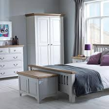 HUTCH Buxton Light Grey Painted Bedroom Furniture - Painted bedroom furniture