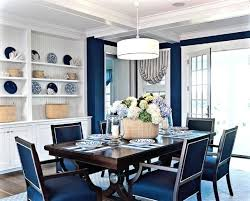 Blue Upholstered Dining Chairs Blue Tufted Dining Chair Save To Idea Board Blue Upholstered