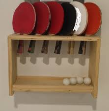 custom table tennis racket buy a custom ping pong paddle and ball holder made to order from