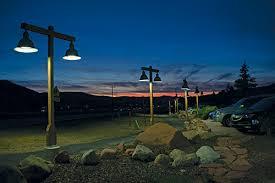 utility pole light fixtures street pedestrian lighting
