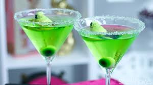martini peep monster martini an appletini with a twist